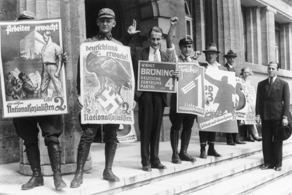 Political parties in the Reichstag election , 31 July 1932, Berlin, Propaganda zur Reichstagswahl
